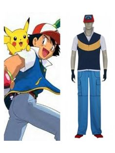 Ash Ketchum costume only zombified?