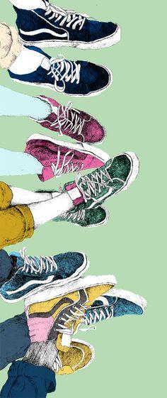 Art Inspiration: Rad ink illustrations by Sophia Drevenstam Art And Illustration, Illustrations And Posters, Shoe Art, Art Inspo, Illustrators, Art Drawings, Art Photography, Street Art, Character Design