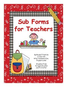 This is a packet of forms for subs to keep track of their jobs and other information. It includes a: -Checklist -School Information Form -Job Records Form -Caught Being Good Tickets for Classroom Management -Borrowed Ideas Record -Daily Summary Form. Teacher Organization, Teacher Hacks, Teacher Forms, Whole Brain Teaching, School Classroom, Classroom Ideas, Future Classroom, School Information, Jobs For Teachers