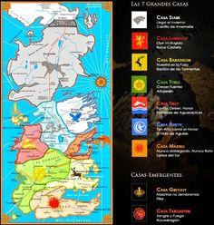 1000 images about emblemas juego de tronos on pinterest - Juego de tronos casas ...