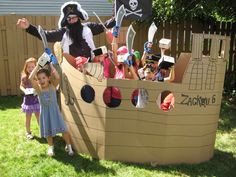 Pirates Birthday Party Ideas   Photo 1 of 23   Catch My Party