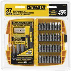 Dewalt DW2176 37-Piece Screwdriving Bit Set with Tough Case