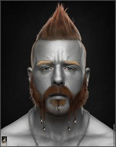 Sheamus - WWE, Hossein Diba on ArtStation at https://www.artstation.com/artwork/V1YnZ