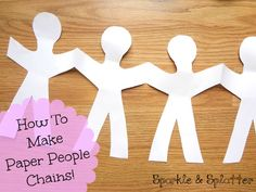 I love making these! They make fun little coloring projects and are lovely decorations for parties. All you need are paper and scissors....