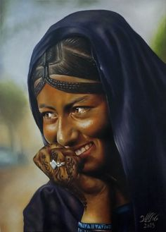 Adel Elliethy - egypt  Oil painting  Canvas 70 *50
