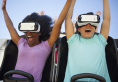 FFor those adrenaline junkies who don't get enough of a thrill riding a regular roller coaster,  Six Flags  Magic Mountain in Valencia is adding virtual reality to the mix.