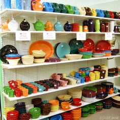 After 20+ years, I am ready for some new place settings.  I'm looking at Fiestaware in Lemongrass, chocolate, peacock, scarlet and tangerine!