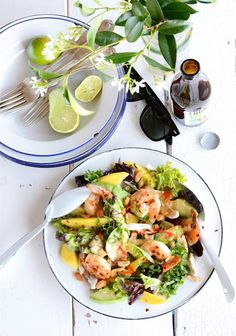 20 Delicious Spring and Summer Salads You Need to Try via @domainehome