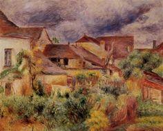 Essoyes Landscape - Pierre-Auguste Renoir