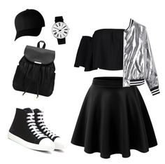 """""""Untitled #1619"""" by n2288851 on Polyvore featuring Prada, Boohoo, Sans Souci, Flexfit and Rosendahl"""