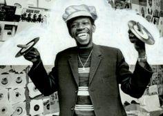 Stranger Cole Inna Record Store Kingston Jamaica 1978