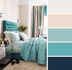 Συνδιασμοί χρωμάτων για το υπνοδωμάτιο