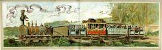 Kingdom of Belgium, the Nineteenth century. - First train 1835 between Brussels and Mechelen.