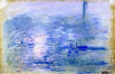 Claude Monet The Thames In Fog oil painting reproductions for sale