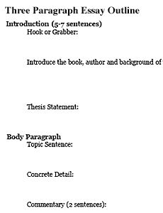 essay outline template | Ms. Carroll's Reading and Writing Class ...