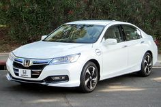 2012 Honda Accord electric hybrid prototype.