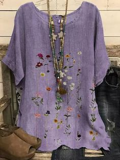 Curtido, Blouse Online, Short Sleeve Blouse, Latest Fashion Trends, Sleeve Styles, Blouses For Women, Floral Tops, My Style, Casual