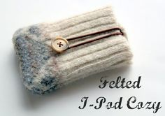 ipod cover recycled sweater