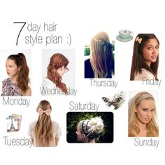 7 Day Hair Style