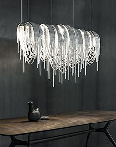 TERZANI Volver by Design Studio 14, Fringe, Lighting, Lighting Design, Interior Design, h-a-l-e.com