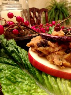 Apple Stacks! Gluten Free, Vegan, Specific Carb Diet SCD Friendly!  glutenfreehappytummy