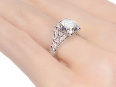 Dream a Little Dream - Tiffany Engagement Ring - The Three Graces
