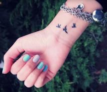 small and pretty, im getting this done for definite when im old enough, it will have so much meaning behind it ;)
