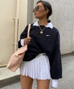 Classy Summer Outfits, Summer Fashion Outfits, Cute Casual Outfits, Stylish Outfits, Outfit Summer, Cute Skirt Outfits, Trendy Summer Outfits, Autumn Outfits, Cute Winter Outfits