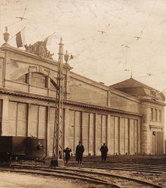 Warszawa - Remiza tramwajowa na Pradze (1925)