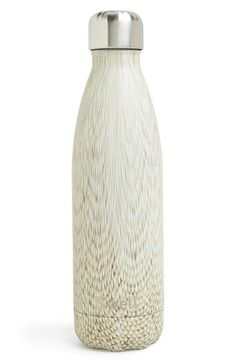 S'well 'Hand Painted Textile Collection' Water Bottle (17 oz.) at Nordstrom.com. Stay hydrated in high style with a sleek, double-walled stainless-steel water bottle that keeps cold drinks cold for up to 24 hours and keeps hot drinks hot for up to 12. Designed to fit in a standard car cup holder, it features a wide mouth that makes it easy to fill, add ice cubes and clean.