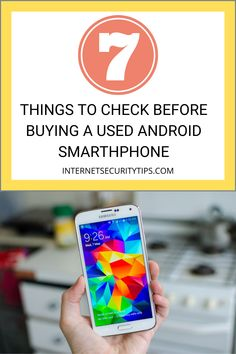 With premium Android models costing close to £1,000, buying a second-hand handset might seem an attractive and cost-efficient solution. But while you can pick up a refurbished Samsung Galaxy smartphone at a great price, you need to do your due diligence to make sure that you're actually getting a safe and secure phone in the process. Here are 7 things to check when buying a second-hand handset. Samsung Galaxy Smartphone, Android Smartphone, Android Security, Diligence, Models, Check, Stuff To Buy, Templates, Fashion Models