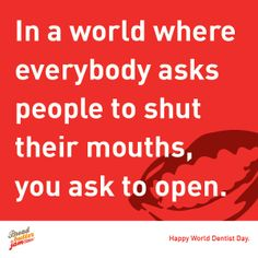 6th of March is celebrated as World Dentist Day. Here is a pin to express our thanks to them.
