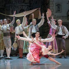 Alla Bocharova and Andrey Sorokin in Don Quixote act 1 9
