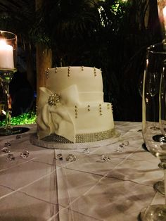 Cake at Villa Tuscany Mansion by #ExckusiveActivitiesPR #VillaTuscany