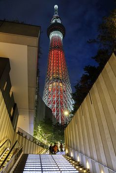 Japan - Tokyo Sky Tree (Photo by Michael Q Todd) Nagoya, Osaka, Yokohama, Kyoto, Places Around The World, Around The Worlds, All About Japan, Tokyo Skytree, Tokyo Tower