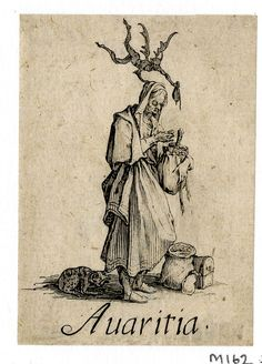 Avarice   Greed by Jacques Callot