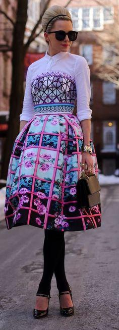 Mary Katrantzou Pink Midi Dress by Atlantic - Pacific