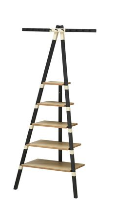 IKEA's New Line of Portable Furniture: Wall Shelf with Hanging Rack