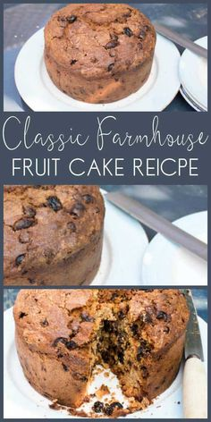 Classic Farmhouse Fruit Cake Delicious old fashioned fruitcake recipe, just like it's straight from the farmhouse. This classic recipe for afternoon tea or just to enjoy anytime. Ic Recipes, Trinidad Recipes, Easy Cake Recipes, Baking Recipes, Dessert Recipes, Farmhouse Fruit Cake Recipe, Old Fashioned Fruit Cake Recipe, Best Fruitcake, Delicious Desserts
