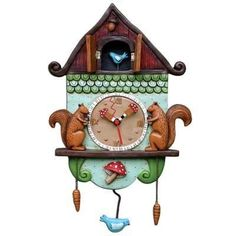 Squirrel Cuckoo Clock!