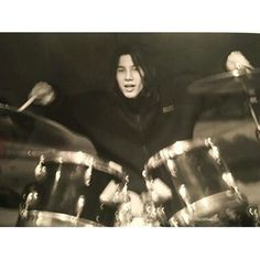 YOUNG JAY KAY on the drum