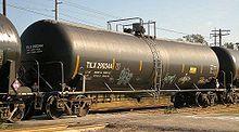DOT-111 tank car.   30110   gallon