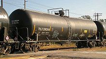 DOT-111 tank car.   30110   gallon