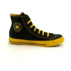bd1099e7c1206a Shop for Converse All Star Hi Athletic Shoe in Black Yellow at Journeys  Shoes. Shop