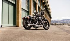 IRON 883™ - A blacked-out-beauty with a low seat and agile handling.  Harley.. I desire you!
