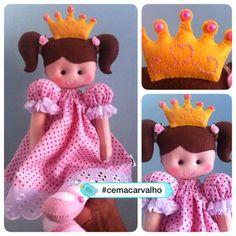 Princesa pra Valentina... Como não amar?!?!? 😍😍😍😍 Mais fotos espia lá…