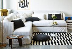 Take a Seat -- The sofa is the best (and most comfortable) seat in the house. From perfectly tailored sectionals to relaxed slipcovered styles, find your favorite in this collection and prepare to settle in. Shop our favorite stylish sofas and sectionals here!