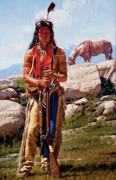American Zeitgeist by Stan Davis kK Native American Models, Native American Warrior, Native American Paintings, Native American Pictures, Native American Wisdom, Native American Tribes, Native American History, Native Indian, Native Art