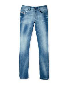 (Boys 8-20) Belther-J Regular Slim Fit Jeans