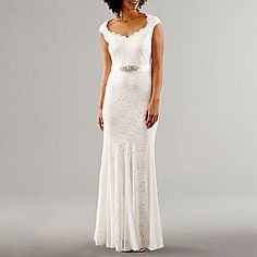 FREE SHIPPING AVAILABLE! Buy Melrose Short Sleeve Embellished Evening Gown at JCPenney.com today and enjoy great savings.
